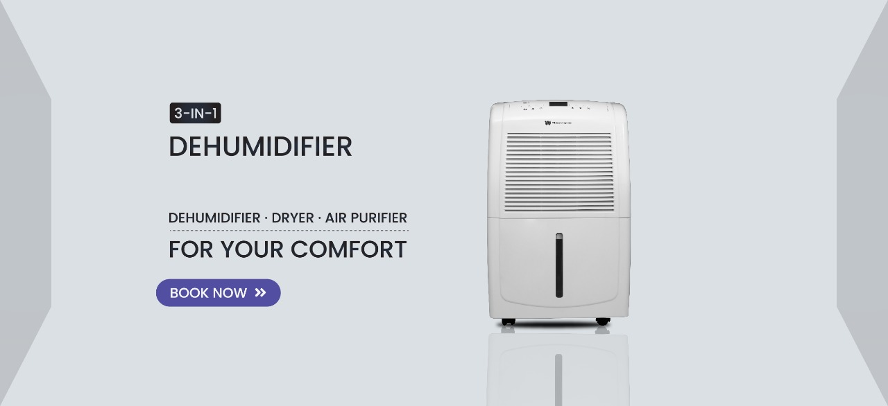 White Westinghouse Dehumidifier Supplier, best dehumidifier supplier in india, best dehumidifier provider in india,kridovia