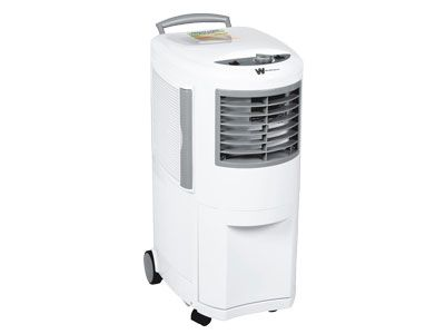 Work in a rust free dry space with this 3-in-1 industrial dehumidifier